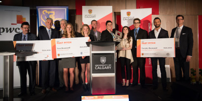 Haskayne students compete in inaugural RBC Fast Pitch competition