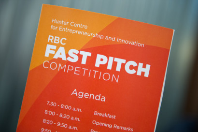 RBC Fast Pitch Competition Agenda