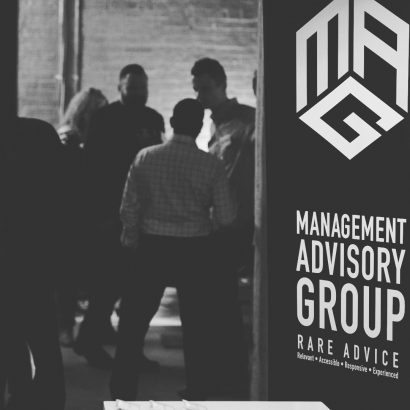 management advisory group bannerstand